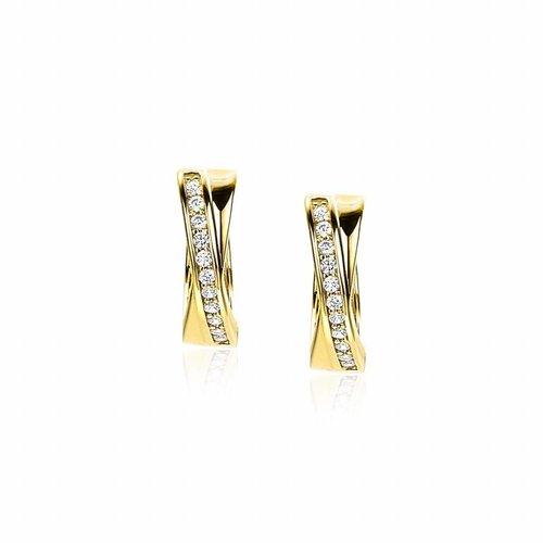 Zinzi Gold Gouden oorbellen ZGO209