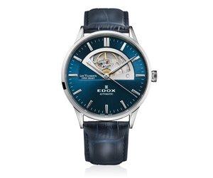 Onwijs Edox Automatisch Zwitsers Les Vauberts herenhorloge 85014 3 BUIN CO-27