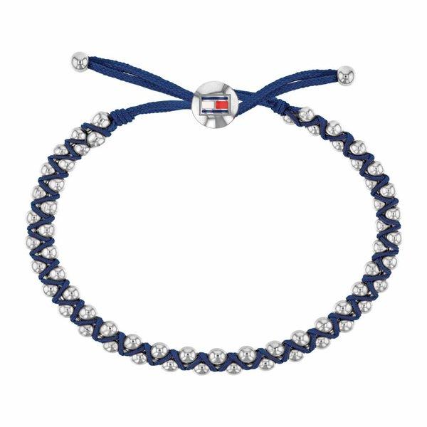 Blauwe kunststof armband (Friendship TJ2780008)