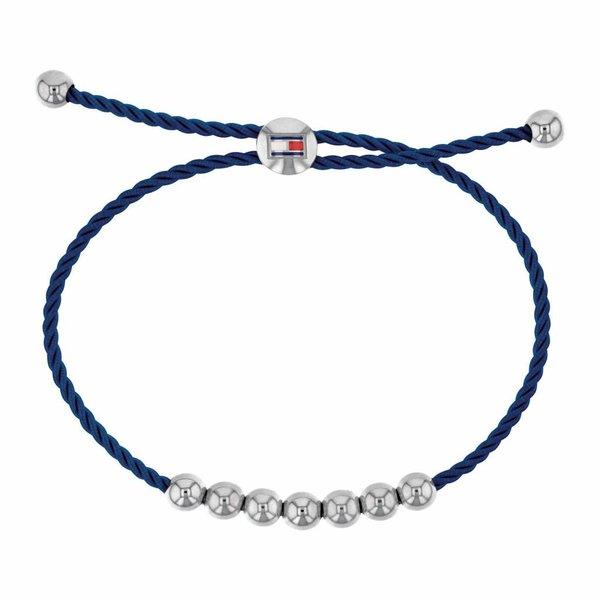 Blauwe kunststof armband (Friendship TJ2780003)
