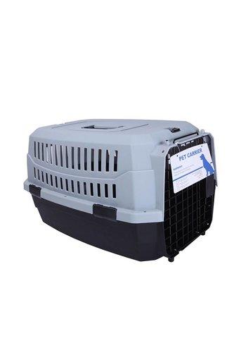 MPets MPets  Boîte de transport pour chats de la route -Petit gris