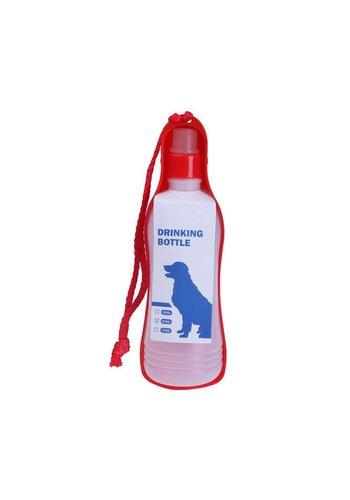 MPets MPets  Boîte à boissons Grande pour le chien sur la route  750 ml rouge