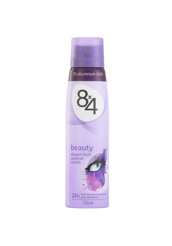 8x4 8x4 déodorant 150ml beauty