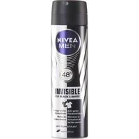 Nivea Deospray men 150ml invisible black - white