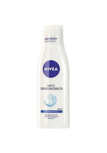 Nivea Nivea visage gezicht-reiniging, melk zacht200ml