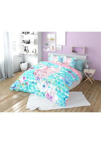 So Cute Dekbedovertrek Flamingo Multi