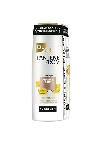 Pantene Pantene Shampoo 2x500ml repair-care