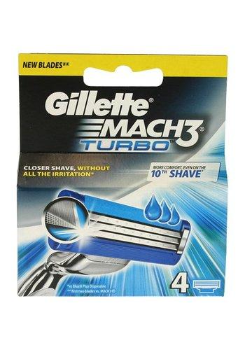 Gillette Gillette Mach3 turbo 4 pièces