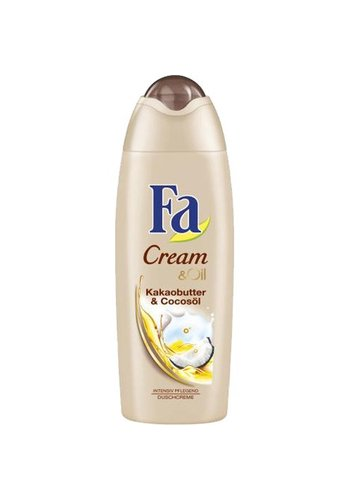 Fa Douche Cream Oil Cacaoboter en Kokosolie 250 ml