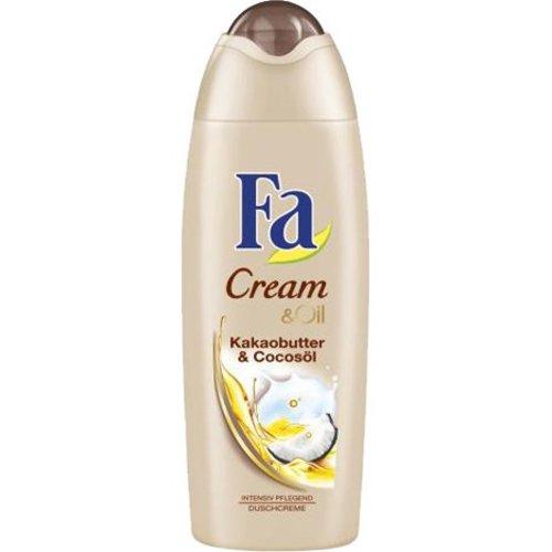Fa Fa Douche 250ml Cream&Oil Cacaoboter en kokosolie