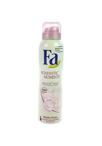 Fa Fa Deospray 150 ml Romantic Moments