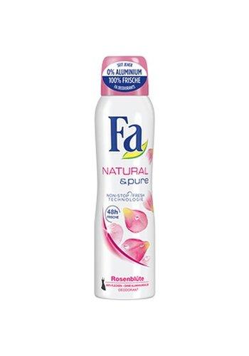 Fa Fa Deospray 150ml Natural & Pure bloeiende rozen