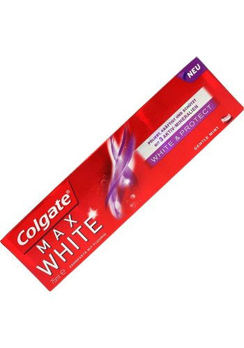 Colgate Colgate Tandpasta 75ml Max White wit&beschermend