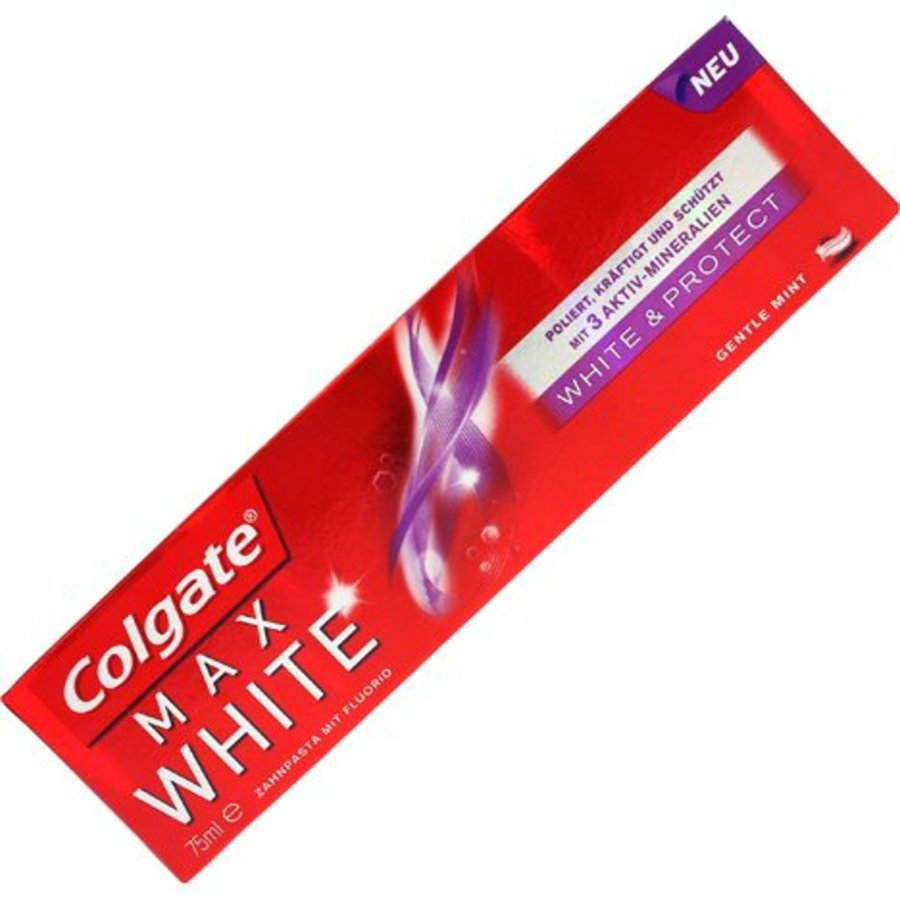 Colgate Tandpasta 75ml Max White wit&beschermend