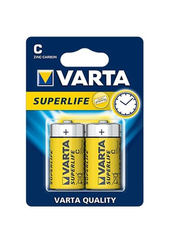 Varta Varta Batterijen superlife baby 2stuks