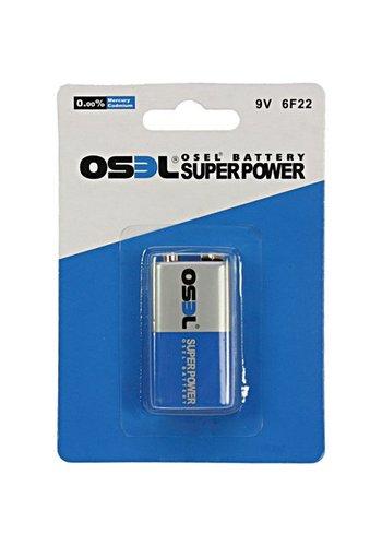 Osel Osel Batterijen Power E-block 1 stuks - 9 volt