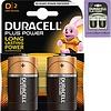 Duracell Duracell Batterijen Plus Alkaline Mono 2stuks MN1300