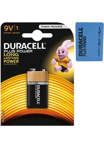Duracell Duracell Batterijen Plus Alkaline E-block MN1604