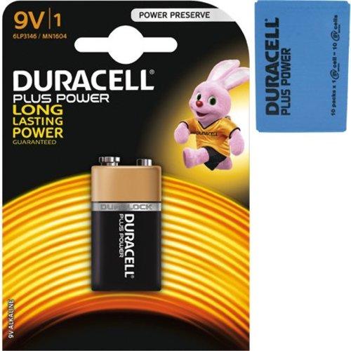 Duracell Duracell Batteries plus power alkaline e-block mn1604