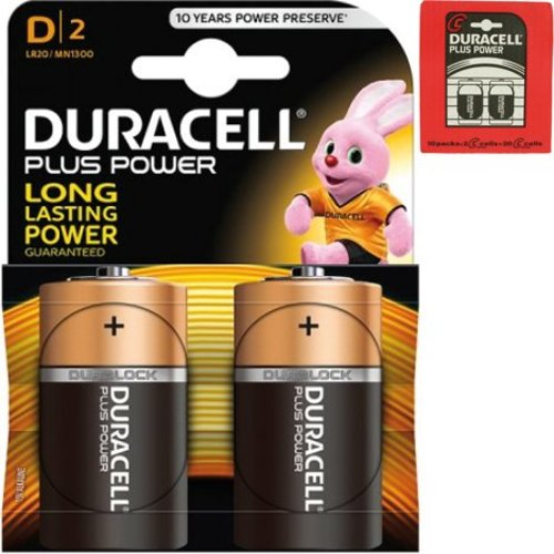 Duracell Duracell Batteries plus power