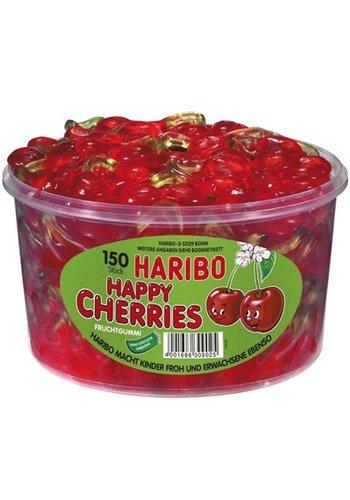 Haribo Haribo ronde doos happy kersen 150 stuks