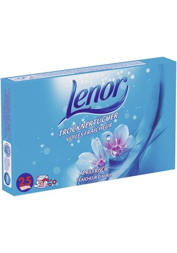 Lenor Lenor lingettes sèches 25 Pièces  frais