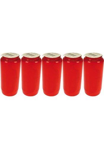 Neckermann Graflicht nr 7 - 5 stuks denim rood