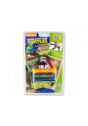 Neckermann Neckermann mutant adolescent Ninja tortues plasticine vert