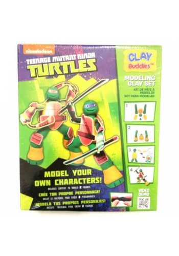 Neckermann Neckermann mutant adolescent Ninja tortues plasticine set vert