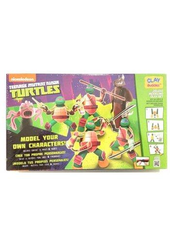 Neckermann Teenage mutant Ninja Turtles plasticine set