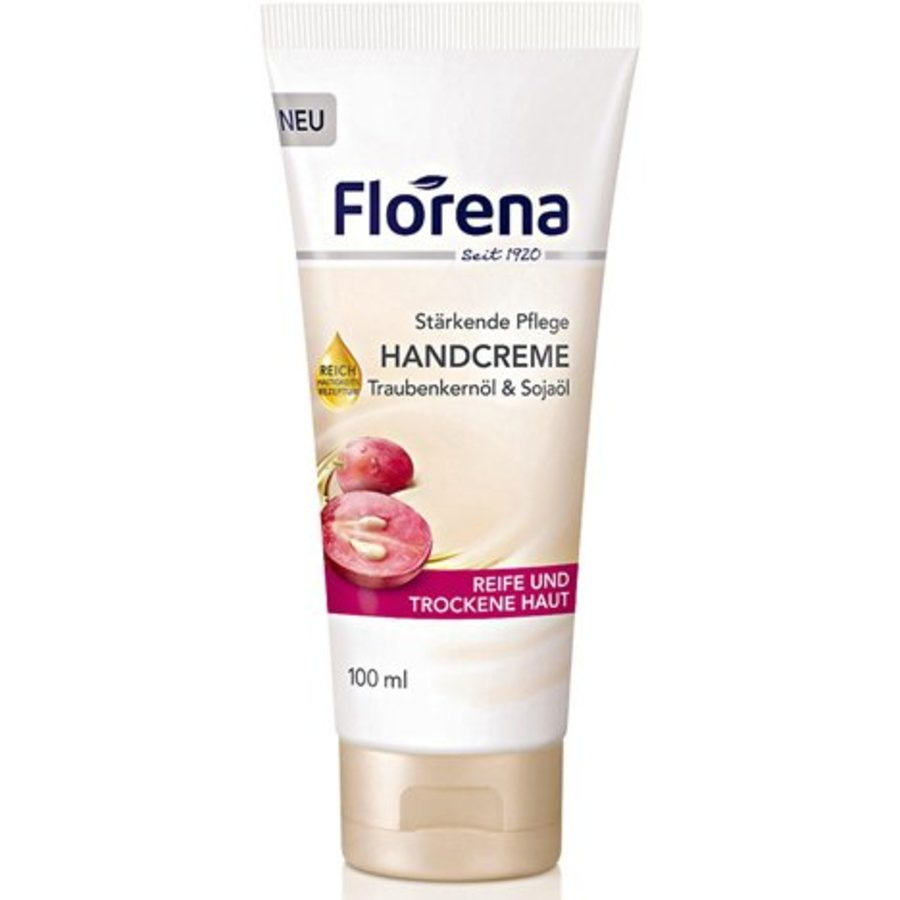 Florena Handcreme 100ml druivenpitolie tube