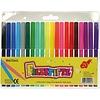 Neckermann Marqueurs de couleur - couleur - 20 pièces