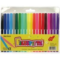 Marqueurs de couleur - couleur - 20 pièces