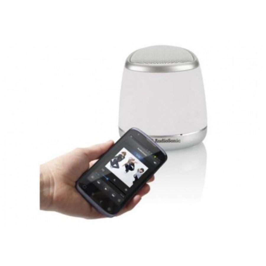 AudioSonic Haut parleur - blanc