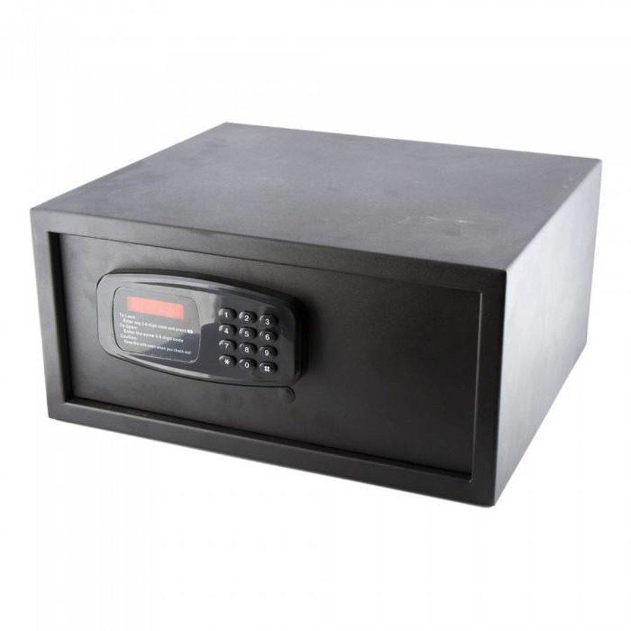 Coffre-fort électronique - acier - 42x36x19 cm