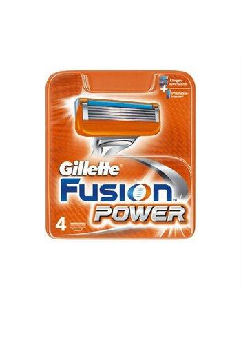 Gillette Gillette Fusion power 4 stuks