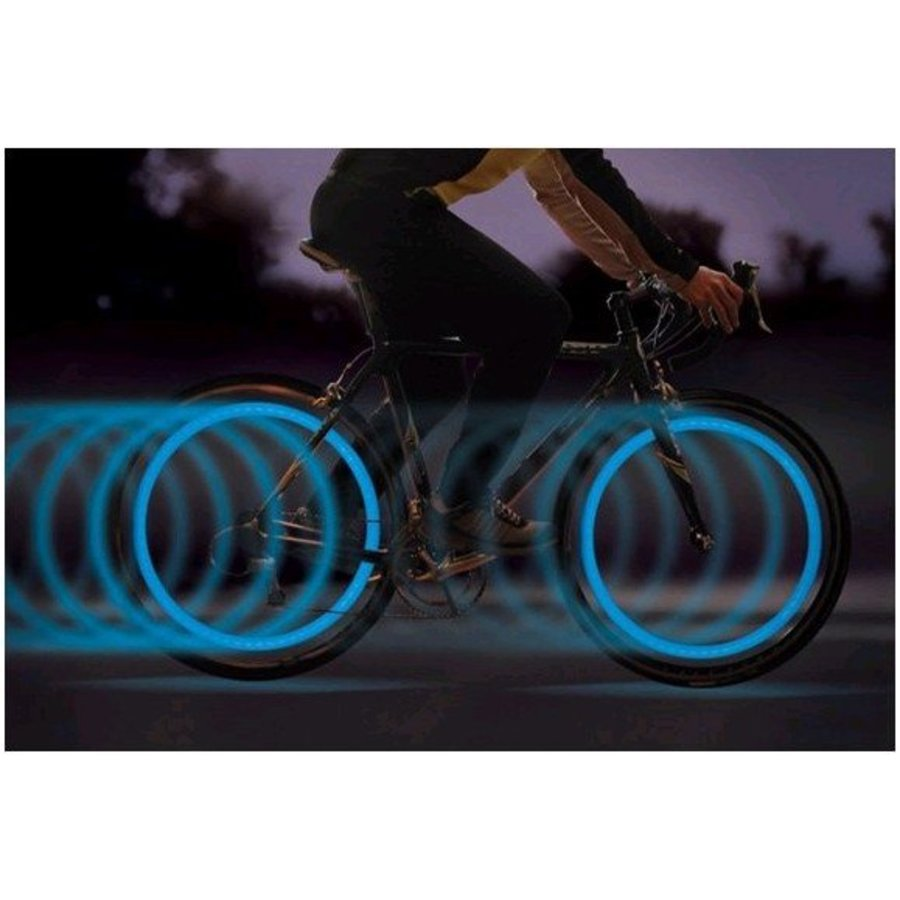 Neckermann LED Ventilkappe Auto-fahrrad-motor