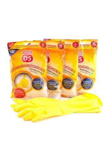 D5 X-treme Huishoudhandschoenen 2 stuks in diverse maten