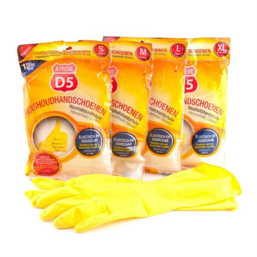 D5 X-treme Gummihandschuhe groß