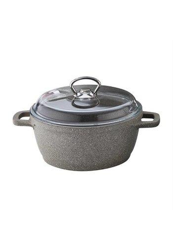 Falez Poêle à soupe en granite Silico