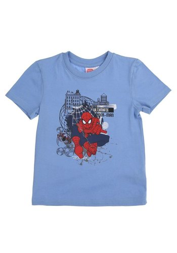 Spyderman Kinder T-Shirt - blue