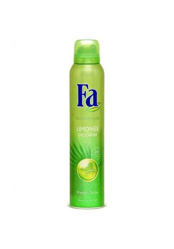 Fa Deodorant - Caribbean Lemon - 200 ml