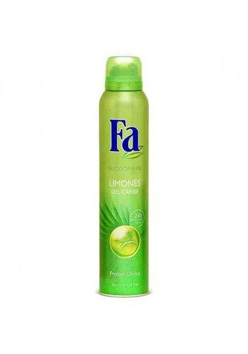 Fa Deodorant - Karibische Zitrone - 200 ml