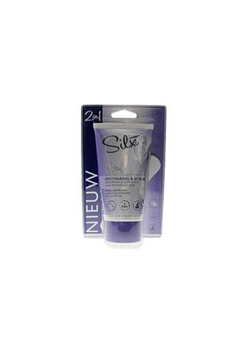 Silx Épilation et gommage 2en1  150 ml