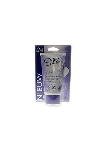 Silx Haarentfernung und Peeling 2 in 1150 ml