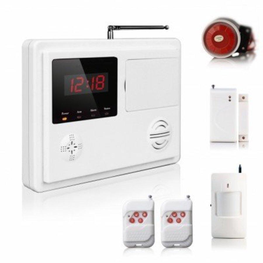 Alarm system 120 zonen