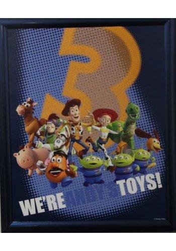 Disney Toy Story Affiche avec liste 46x55,5 cm