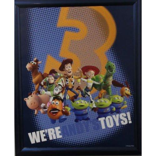 Disney Toy Story Poster met lijst 46x55,5 cm