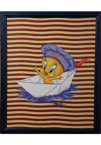 Looney Tunes Poster met lijst 55,5x46 cm