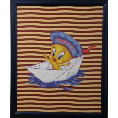 Looney Tunes Poster mit Liste 55,5x46 cm